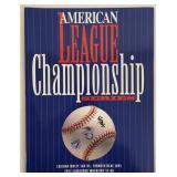 1993 American League Championship Program