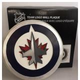 NHL Winnipeg Jets Logo Wall Plaque