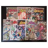 Collection of The Avengers Comics