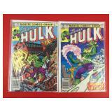 The Incredible Hulk #274, 276