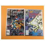 Fantastic Four #347, 376