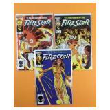 Firestar #2, 3, 4