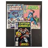 Captain America #306, 324, 340 Comics