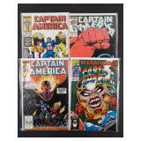 Captain America #346, 354, 356, 387