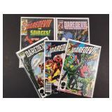 Daredevil #202, 207, 212, 221, 222 Comics