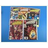 Daredevil # 244, 246, 258, 263, 264 Comics