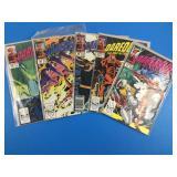 Daredevil #265, 266, 269, 275, 277 Comics