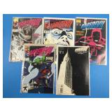 Daredevil #294, 299, 300, 301, 319 Comics