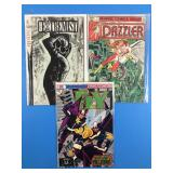 3 Assorted Comics Including The Dazzler