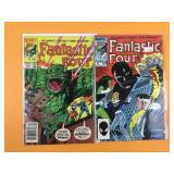Fantastic Four #271, 278
