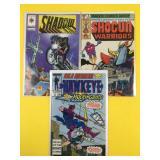 3 Assorted Comics