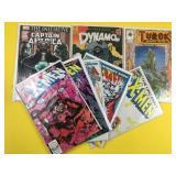 8 Assorted Comic Books