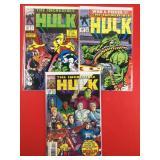 The Incredible Hulk #387, 390, 417