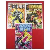 Iron Man #189, 190, 289