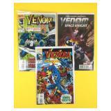 3 Venom Comic Books