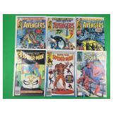 Marvel Super Action & Marvel Tales Comic Books