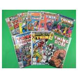 8 Marvel Two-In-One Comic Books