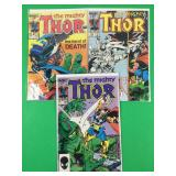 Mighty Thor #343, 349, 358