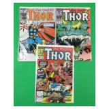 Mighty Thor #365, 380, 389
