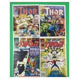Mighty Thor #392, 417, 444, 449