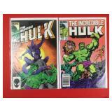 The Incredible Hulk #308, 314