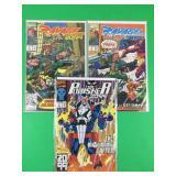 Punisher 2099 #2 & Ravage 2099 #2, 3