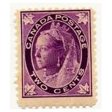 Canada Postage Stamp, 1897-98