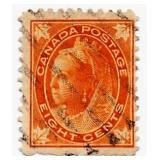 Canada Postage Stamp, 1898-1902