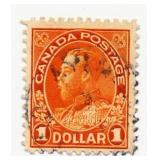 Canada Postage Stamp, 1922-25