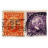 Canada Postage Stamp, 1927