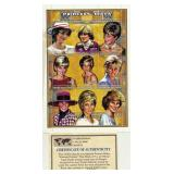 Informal Portraits Princess Diana Plate Block Of 6