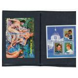 Stamp Lots 2 Royal Royal Wedding/Renoir