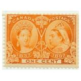 1897 Canada Unused Queen Victoria Stamp One Cent