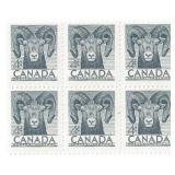 Canada Block Of 6 Four Cent Stamps