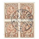 Denmark IKR Stamp Block