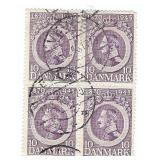 Denmark 10 1870-1945 Stamp Block