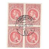 Denmark 20 1870-1945 Stamp Block