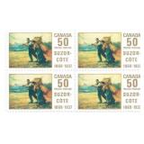 Canada Unused Stamp Block Of 4 50 Cents