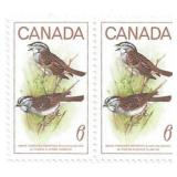 Canada Unused Stamp Block Of 2 Birds