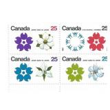Canada Unused Stamp Block Of 4 Expo 70