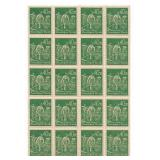 Unused 40m Deutches Reich Block Of 20 Stamps