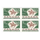 Canada Unused Stamp Block Of 4 1763