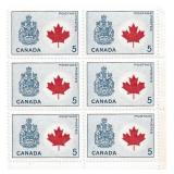 Canada Unused Stamp Block Of 6