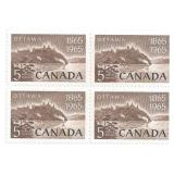 Canada Unused Stamp Block Of 4 1965