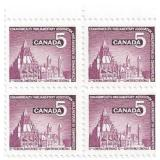 Canada Unused Stamp Block Of 4 Parliment