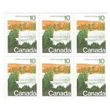 Canada Blocks of 10 Cent Unused Stamps
