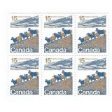 Canada Blocks of 15 Cent Unused Stamps