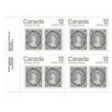 Canada Block of 12 Cent Unused Stamps
