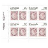 Canada Block of 30 Cent Unused Stamps