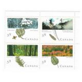 Canada Block of 39 Cent Unused Stamps
